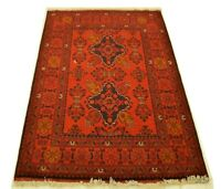 """3'4"""" x 4'12"""" ft. Tribal Afghan Khal Mohammadi Area Hand Knotted 100% Wool Rug"""