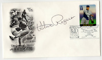 Steve Rogers signed autographed cachet envelope! RARE! Guaranteed Authentic!