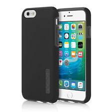 NEW Incipio DualPro Hard Shell Case Dual Layer Black/Gray Cover for iPhone 6S 6