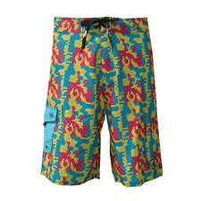 Notion Clothing Boardshorts Digi Digital Camo CMYK Pink Blue Yellow Surf Size 34