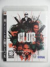 jeu THE CLUB sur PS3 playstation 3 en francais game spiel juego gioco combat TBE