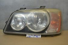 2001-2003 Toyota Highlander Left Driver OEM headlight 42 5K1
