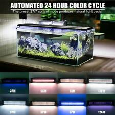 "20""30""36"" Rgb Led Aquarium Light Freshwater Plant Grass 24/7 Remote Control Us"