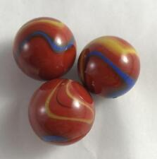NEW Lot of 3 Marbles 22mm Odin 118237 House of Marbles Red Blue Yellow