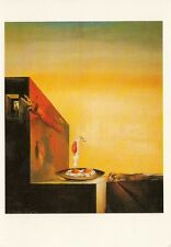 SALVADOR DALI<>FRIED EGGS ON A PLATE WITHOUT THE PLATE<>POSTCARD