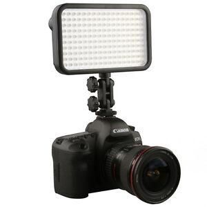 170 LED Video Lights Camera Hot Shoe Light for Canon Nikon Pentax DV Cam DSLR