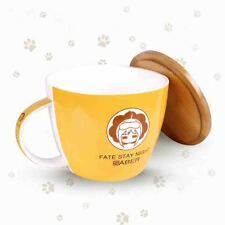 Fate Stay Night Lion Saber Cute Anime Ceramic Mug Cup Instant noodles bowl Gift