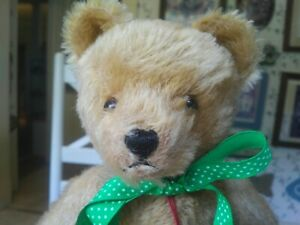 1980s Mohair Hermann Teddy Originals Teddy bear Germany 14in VGC