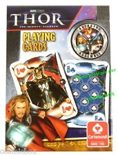 Jeu de 54 cartes à jouer THOR the Advengers par Marvel Cartamundi playing cards