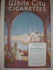 White City Godfrey Phillips cigaretttes large ad 1919