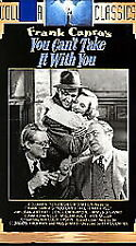 YOU CAN'T TAKE IT WITH YOU rare Classic vhs JIMMY STEWART Jean Arthur Academy 38