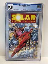 Valiant Comics Solar, Man of the Atom #3 CGC 9.8 White Pages Toyo Harada Thumper