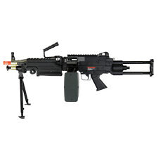 Airsoft M249 Para 400 FPS Heavy Machine Gun LMG Rifle Full Metal IU-M249 PARA-B