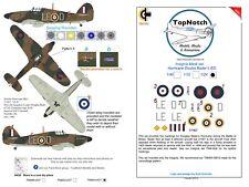 TopNotch Hurricane Insignia LE-D Douglas Bader vinyl mask set