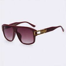 Gafas de Sol Para Mujer y Hombre Anteojos Cuadrado Espejuelos Lentes~ Sunglasses