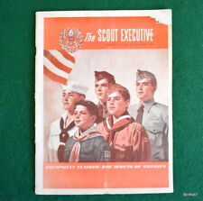 BOY SCOUT - OCTOBER 1947 SCOUT EXECUTIVE - EQUIPMENT CATALOG