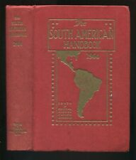 THE SOUTH AMERICAN HANDBOOK 1964 Travel Guide South Central Mexico Caribbean