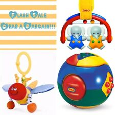 SALE!!!New TOLO Puzzle Ball, Elephant Rocker, Wiggly Jigglie Dragonfly Age 3-6M+