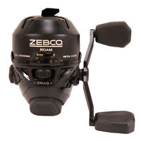 "Zebco / Quantum Roam3Bk.Bx3 Roam Spincast Reel 3.6:1 Gear Ratio 19"" Retrieve"
