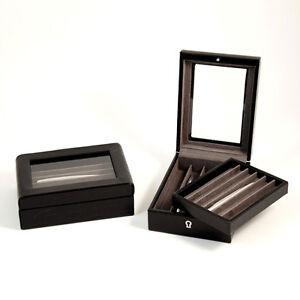 Leather Croco PEN CASE ORGANIZER Display  PEN COLLECTION 11 Pen Case