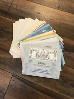 140 all Different BEP, USPS, UN Mint Souvenir Card Collection - Fantastic Deal!!