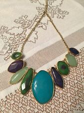 "Stella & Dot Statement Necklace ""Serenity"""