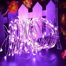 50/100LED String Fairy Lights Copper Wire Battery Powered Waterproof  Xmas Decor
