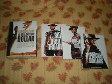COFFRET COLLECTOR 6 DVD LA TRILOGIE DU DOLLAR SERGIO LEONE CLINT EASTWOOD