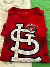 St. Louis Cardinals 2011 National League Champions T-Shirt  size L