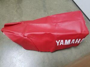 New OEM Yamaha Seat Cover 1985 YZ250  U2