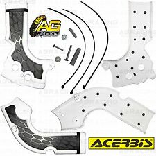 Acerbis X-Grip White Frame Guards Protectors Honda CRF 250R 2014-2015 Enduro New