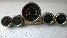 Gauges kit 12-v-Electrical-temp-oil-fuel-Ampere-gauge-speedometer