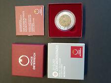 Der Mikrokosmos Österreich 25 Euro 2017 Silber Niob Münze