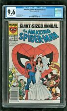 CGC 9.6 AMAZING SPIDER-MAN ANNUAL #21 MARVEL 1987 PETER PARKER WEDS MARY JANE
