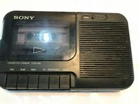 Sony TCM818 Cassette Recorder + 1 Recordable Tape