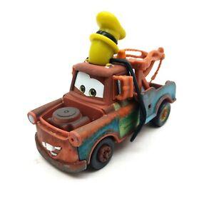 Mattel Disney Pixar Cars Goofy Mater Metal 1:55 Diecast Toy Cars Loose