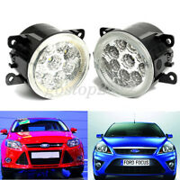 9LED Round Daytime Driving Running Light DRL 2x Car Fog Lights For  Ford Ranger