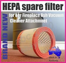 HEPA spare filter for our Fireplace Ash Vacuum Cleaner Attachment