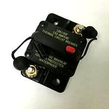 Bussmann DC Circuit Breaker 150 Amp Surface Mount Waterproof CB185-150 185150F
