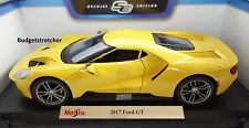 NEW MAISTO 1:18 Special Edition - 2017 model Ford GT in Yellow RARE