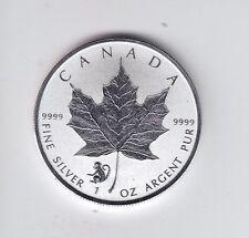 2016 Silver Maple Leaf Monkey Commemorative $5 Privy in Capsule in Case
