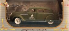 Signature Models 1:32 US Army 1936 Chrysler Air Flow Diecast Model #32519