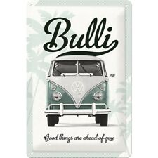 Blechschild 20x30 cm VW Good things are ahead of you