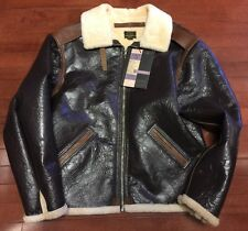 Eastman Leather USAAF Type B-6 Sheepskin & Horsehide  jacket sz 44