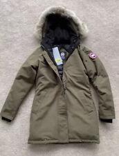 Canada Goose Ladies Victoria Military Green Parka Coat Slim Fit Small New 🇨🇦