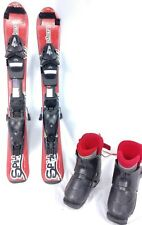 Kids Ski Package, Elan 70cm Skis, Elan Bindings, Rear Entry Boots (or similar)