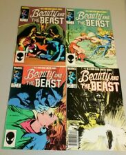 Complete Set Beauty and the Beast 1-4 1984 VF - NM Dr Doom Dazzler X-men Avenger