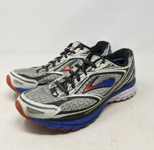 Brooks Mens Ghost 7 Running Shoes Gray 1101681D959 Lace Up Low Top 9 D Blue