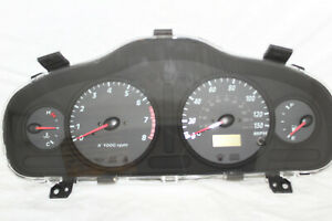 Speedometer Instrument Cluster Dash Panel 01-04 Hyundai Santa Fe 125,604 Miles