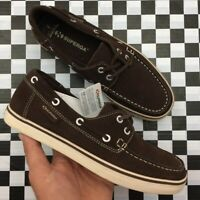 NWT Superga Brooks Brothers Suede Lace Up Boat Shoes Mens Size 7.5 Brown